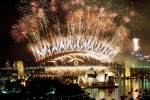 AUSTRALIA-FIREWORKS-NEW YEAR